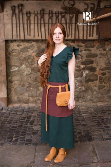 Kleid Agga von Burgschneider mit Schnürung und Schürze
