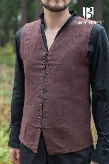 Mittelalterliches langes Unterkleid für LARP