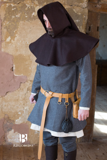 Mittelalter Gugel Cucullus von Burgschneider