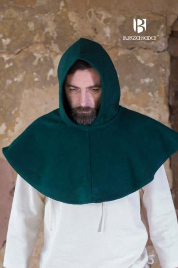 Mittelalter Reisekopfbedeckung Cucullus von Burgschneider für Pilgerer