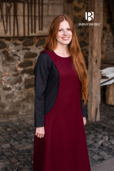 Mittelalter LARP Surcot mit Unterkleid in bunt von Burgschneider