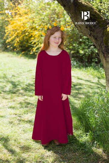 Kinderunterkleid Ylvi von Burgschneider in rot
