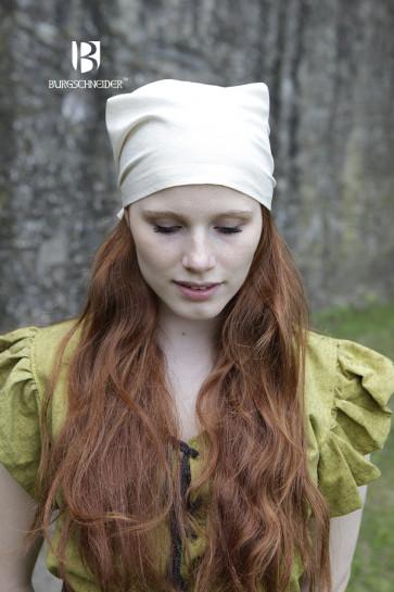 Kopftuch Marianne von Burgschneider für die Magd naturweiß
