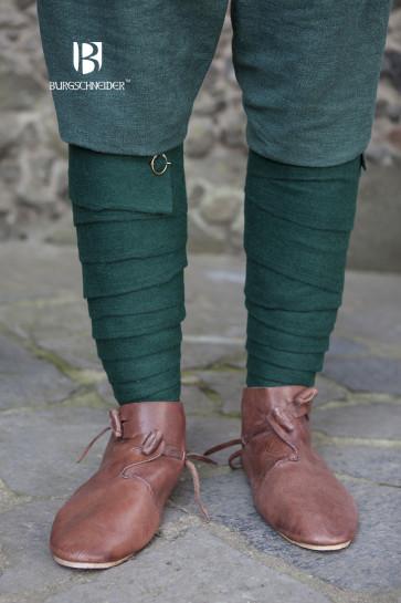 Grüne Wollwadenwickel Aki von Burgschneider