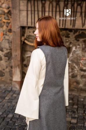 Surcot Albrun - Wolle Grau