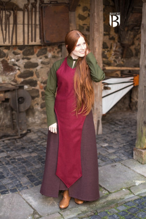Schürze Asua - Wolle Rot