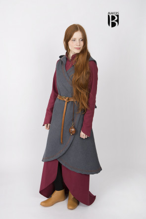 Wickelkleid Dala - Grau