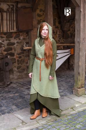 Wickelkleid Dala - Lindgrün