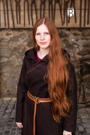 Mantel Enya - Wolle Braun