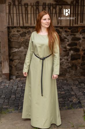 Naturfarbenes Mittelalter Unterkleid Freya von Burgschneider