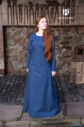 Unterkleid Freya - Waidblau