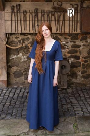 Kleid Frideswinde - Blau