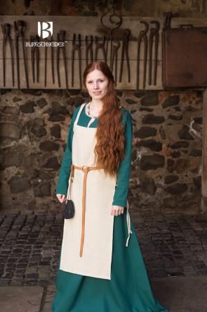 Wikinger Schürzenkleid Gyda von Burgschneider mit Trägern und Seitenschnürung