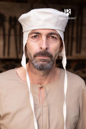 Mittelalter LARP mit Kappe Hugo