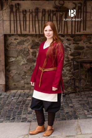 Wolltunika Hyria - Rot