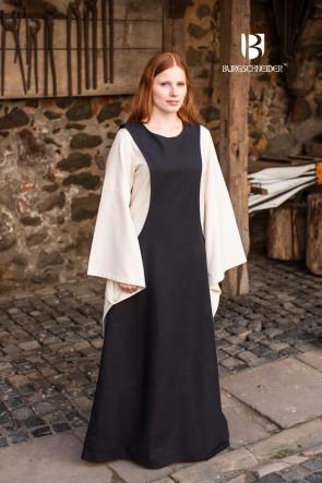 Mittelalter Reenactment Frauenübergewand Isabella von Burgschneider