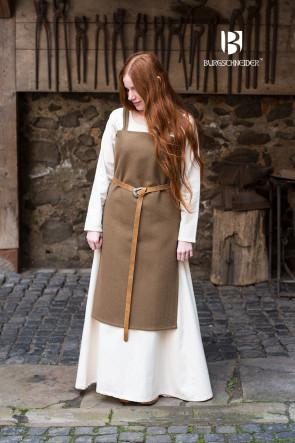 Trägerkleid Jodis - Wolle Herbstgrün