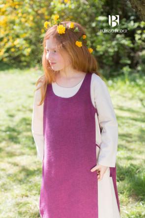 Kinderüberkleid Ylva - Flieder