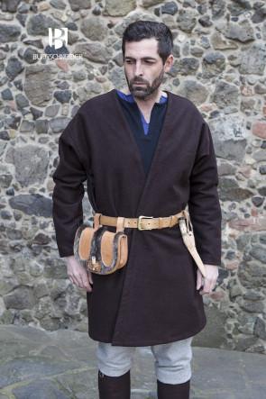 Klappenrock Loki Wolle - Braun