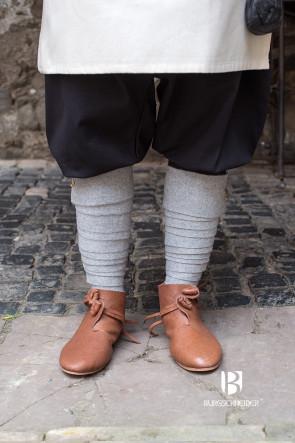 Orange Wool Puttees for Viking LARP