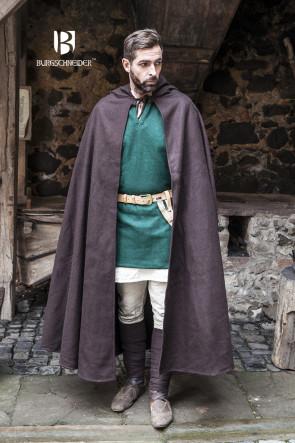 Brauner Mittelalter Umhang Hibernus von Burgschneider