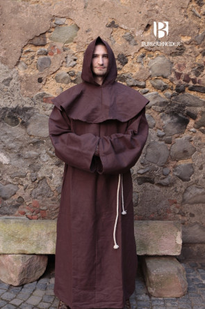 Mönch Kutte Franziskus von Burgschneider mit Gugel