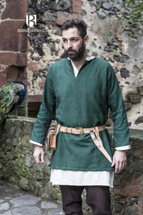 Kurztunika Erik in grün von Burgschneider ist geeignet für Wikinger und Mittelalter LARP