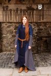 Schürze Asua - Wolle Blau