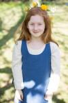 Kinderüberkleid Ylva - Meerblau