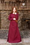 Unterkleid Freya - Bordeaux Rot