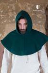Gugel Cucullus - Wolle Grün
