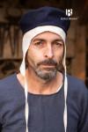 Kappe Hugo - Wolle Blau