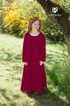 Kinderunterkleid Ylvi - Bordeaux Rot