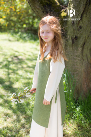 Kinderüberkleid Ylva - Lindgrün