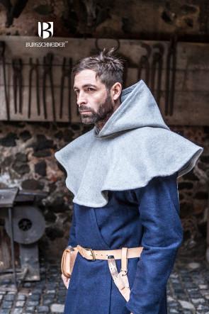 Gugel Cucullus von Burgschneider aus Wolle in grau