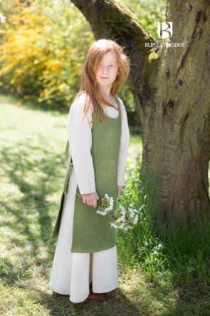 Kinder Trägerkleid Ylva von Burgschneider in lindgrün
