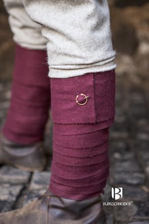 Schlichte kleine Fibel Uri von Burgschneider als Befestiger für Wadenwickel