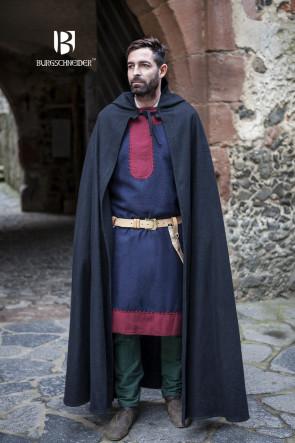 Spätmittelalter Umhang Hibernus von Burgschneider mit Spitzkapuze
