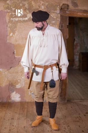 Outfit Vorschlag mit Schnürhemd Störtebecker von Burgschneider
