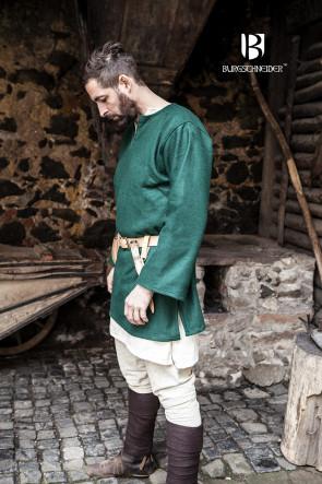 Wolltunika Lodin - Grün