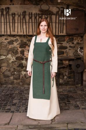 Mittelalter LARP Kleidung aus Schürzenkleid Gyda und Unterkleid Feme von Burgschneider