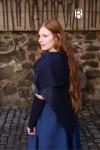 Tuch Bertrude - Wolle Blau