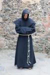Mönchskutte Benediktus - Schwarz
