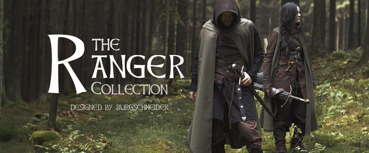 The Ranger Collection designed by Burgschneider. Banner zu den Produkten der Kollektion