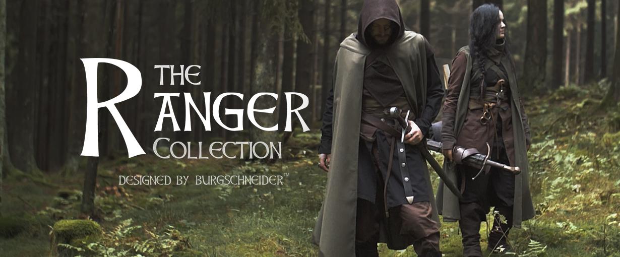 The Ranger Collection designed by Burgschneider. Banner zu den Produkten der Kollektion