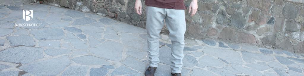 Thorsberghose Wolle Grau
